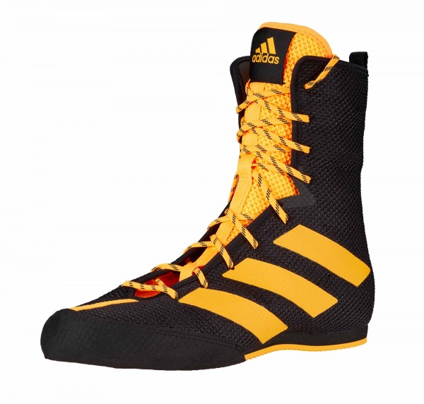 Adidas Boxschuhe Box Hog 3 black/gold