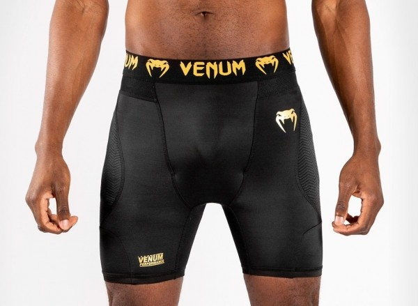 Venum G-Fit Compression Shorts schwarz/gold L