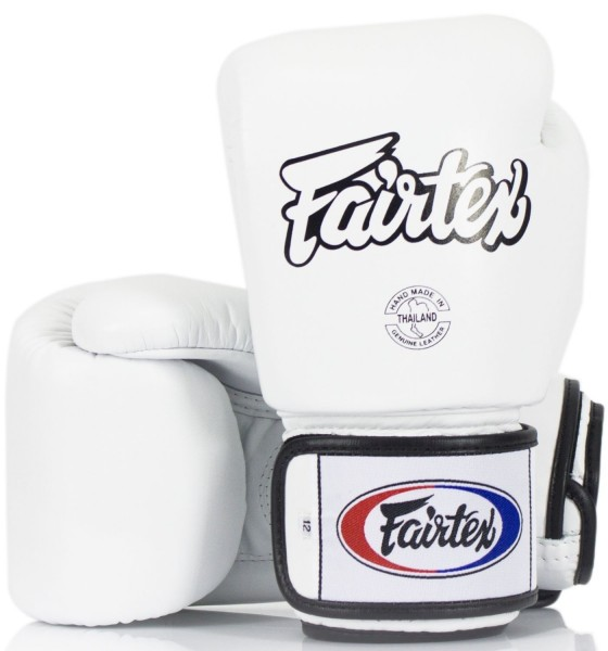 FAIRTEX BGV1 Boxhandschuhe weiß 10oz