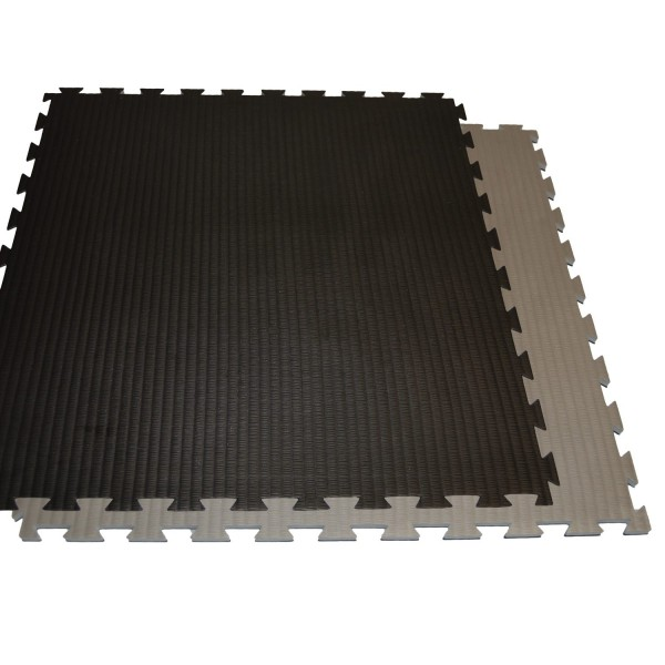 Kampfsportmatten dunkelgrau-schwarz ca.100x100x2cm