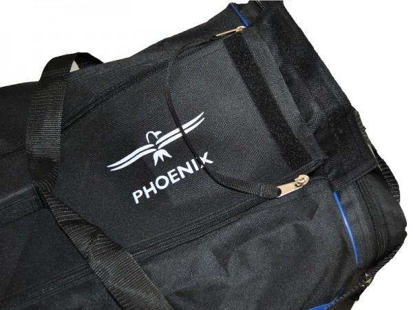 PHOENIX Sporttasche schwarz-blau