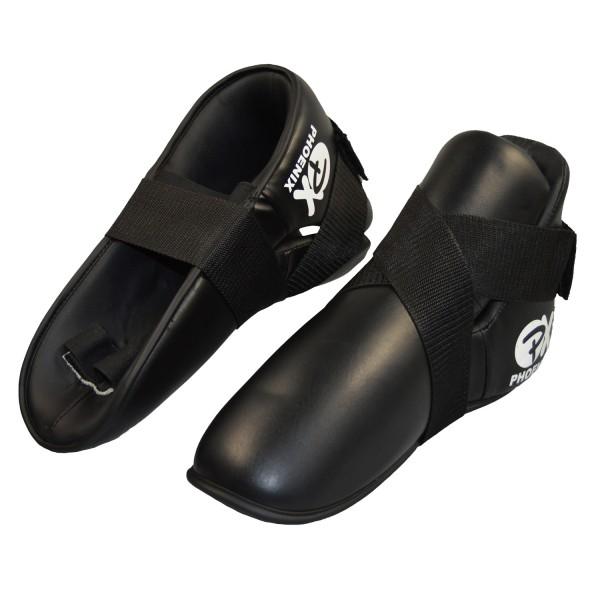 PX Fußschützer Kunstleder schwarz