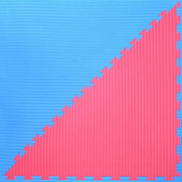 Octagon Set 8x8m blau - rot für Kampfsportmatten