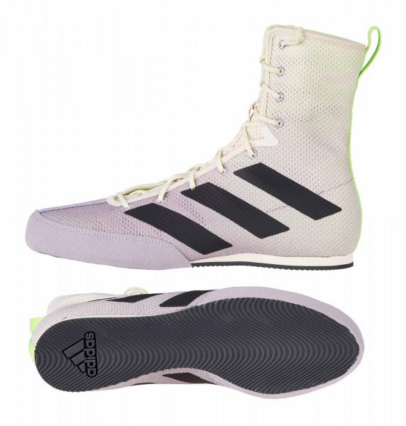 Adidas Boxschuhe Box Hog 3 white/grey/green