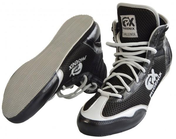 PX Box Schuhe, schwarz-grau Gr. 36