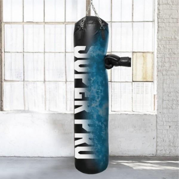 Super Pro Water-Air Punchbag black 100cm/150cm