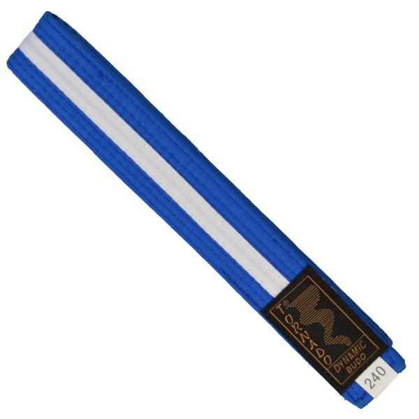 Budogürtel blau-weiß 220cm
