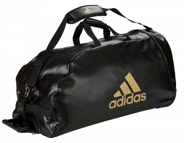 "Adidas Trolley ""martial arts"" black/gold PU"
