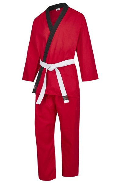 PX CHALLENGE Karategi rot-schwarz Gr. 100
