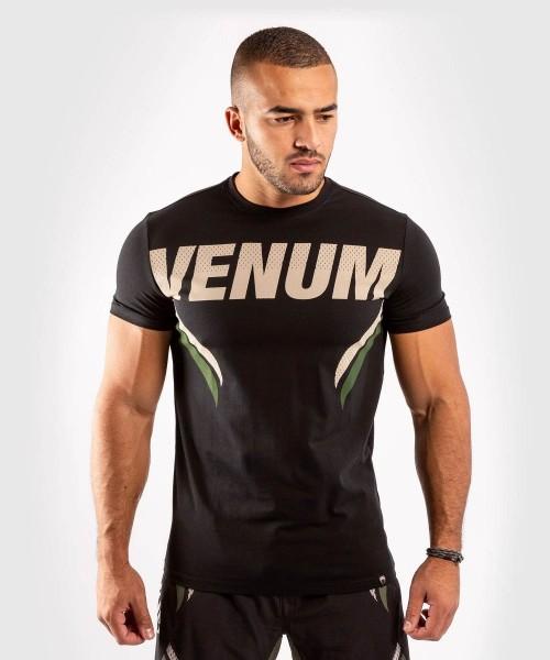 Venum ONE FC2 T-Shirt - Black/ Khaki S