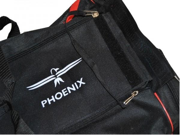 PHOENIX Sporttasche schwarz-rot
