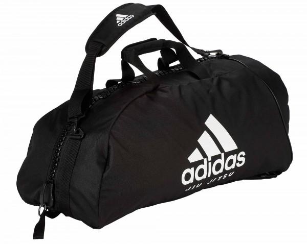 "Adidas 2in1 Bag ""Jiu-Jitsu"" black/white Nylon"
