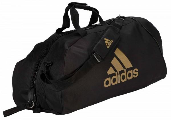 "adidas Sporttasche ""martial arts"" black/gold Nylon, adiACC055"