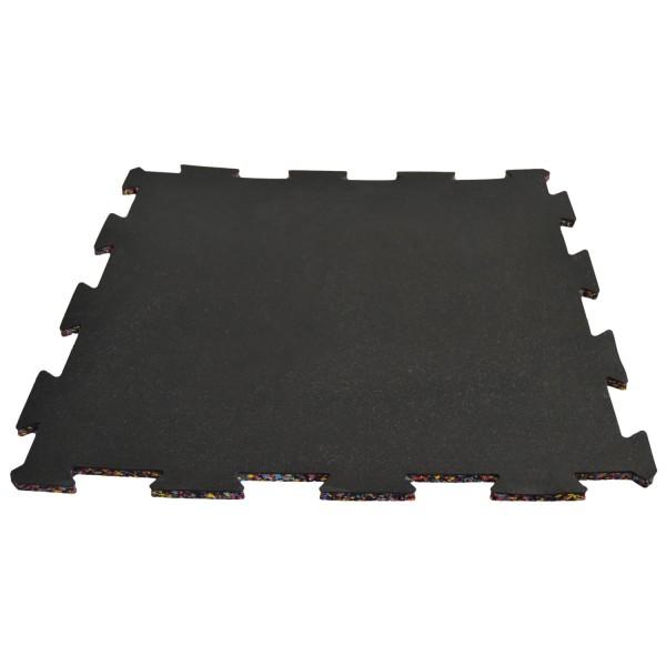 Gummimatte schwarz 50 x 50 x 1cm