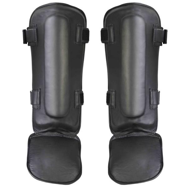 THAI TECH Schienbein-Spannschutz Leder