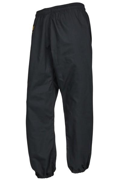 Kung Fu Hose schwarz Beine geschlossen