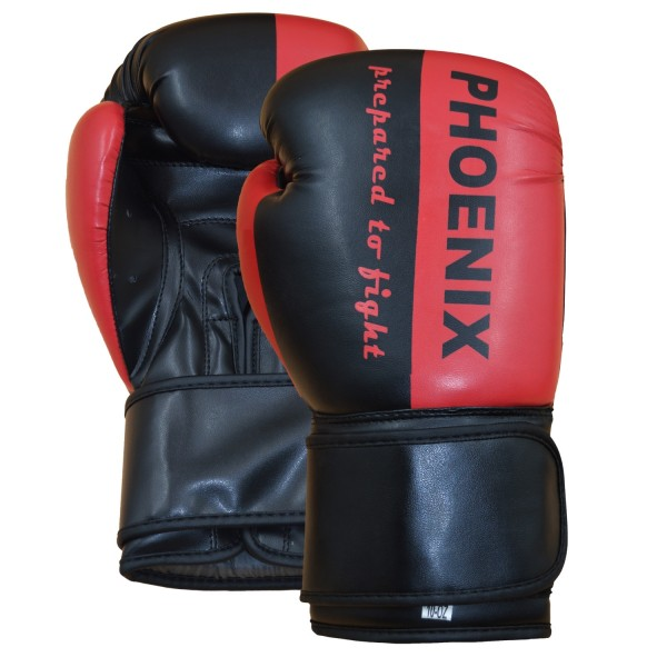 """PX Boxhandschuh """"Prepared to Fight"""" PU s/R 2oz"""