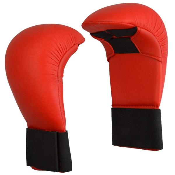 Karate Wettkampfhandschutz rot