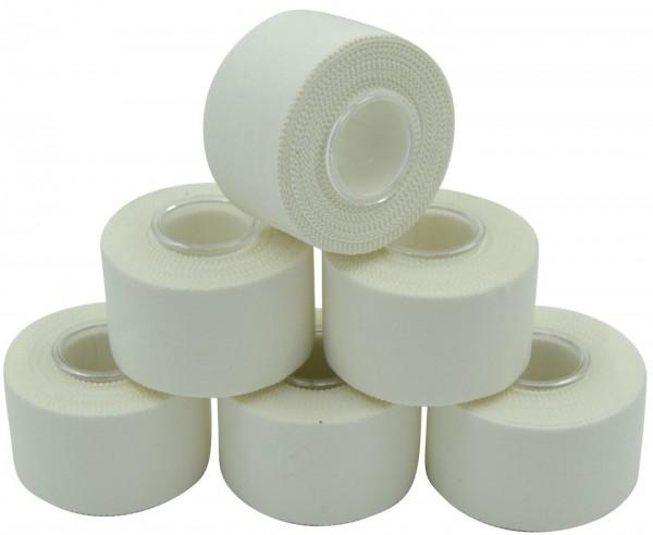 6er Pack Tape weiss ca 3,8 x 1000 cm