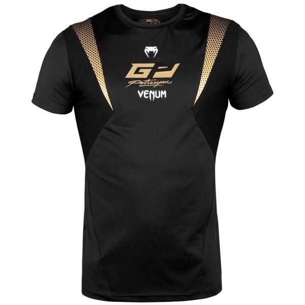 Venum Petrosyan DryTech Shirt-Black/gold