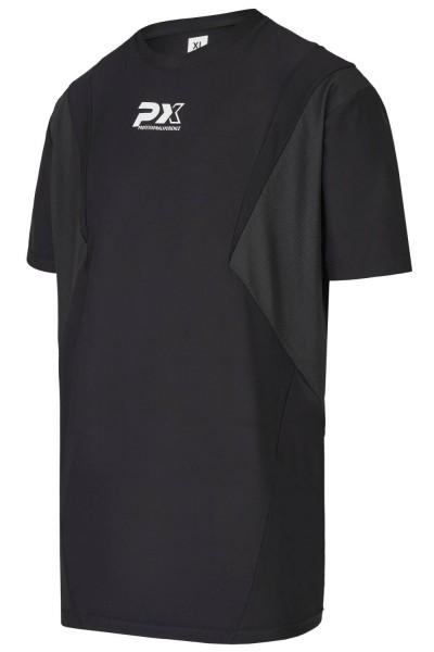 PX GYM LINE Trainingsshirt, schwarz, L