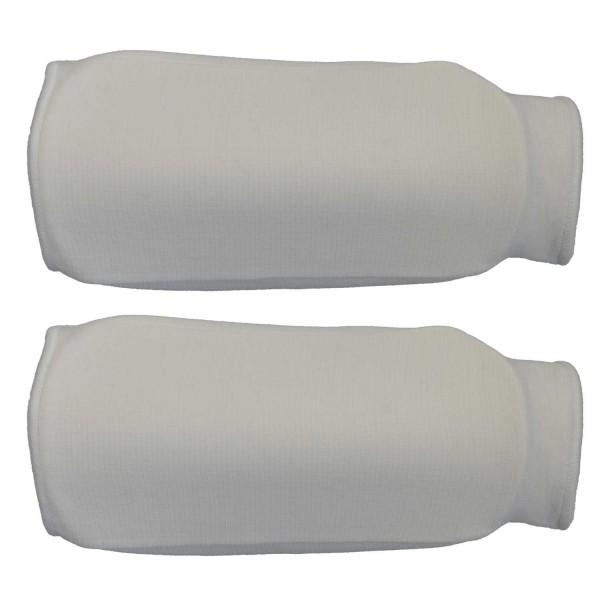Unterarmschoner Stoff weiß