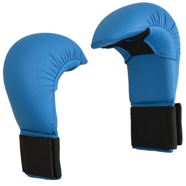 Karate Wettkampfhandschutz blau