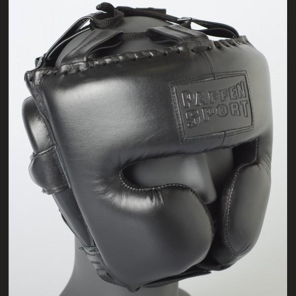 Paffen Sport Black Logo Kopfschutz für das Sparring