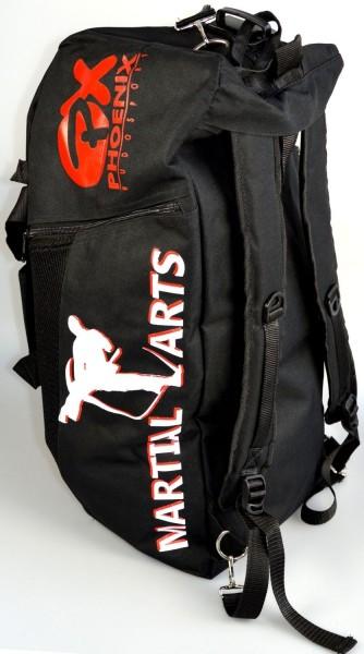 """Sporttasche / Rucksack """"Martial Arts"""" 55x25x25cm"""