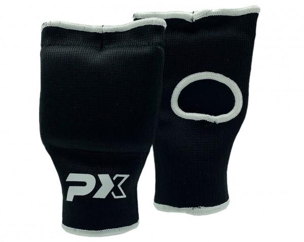 PX Stoff Handschoner, gepolstert schwarz Junior