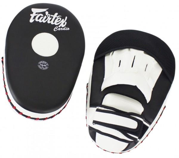 FAIRTEX FMV13 Handpratzen Paar, schwarz-weiß