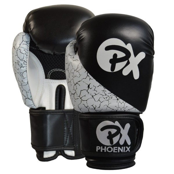 PX Boxhandschuhe STRIKE, PU schwarz-weiß