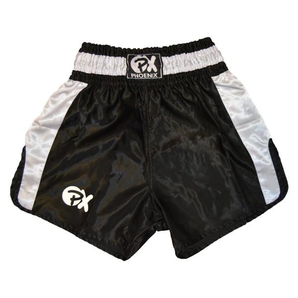 """PHOENIX Thai Shorts, """"Contender"""" schw-weiß"""