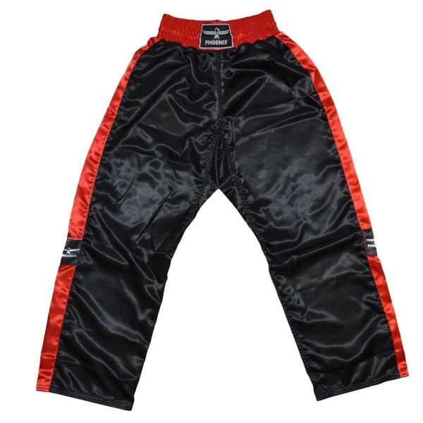 PHOENIX Kickboxhose TOPFIGHT, schwarz-rot