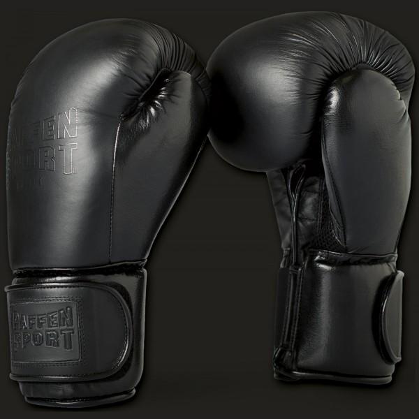 Paffen Sport Black Logo Boxhandschuhe für das Sparring