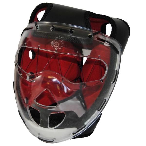 Kopfschutz Chanbara schwarz