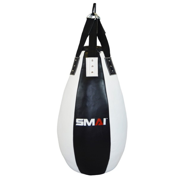 "SMAI Leder-Boxsack ""Tear Drop Shape"" s-w, 105 cm"