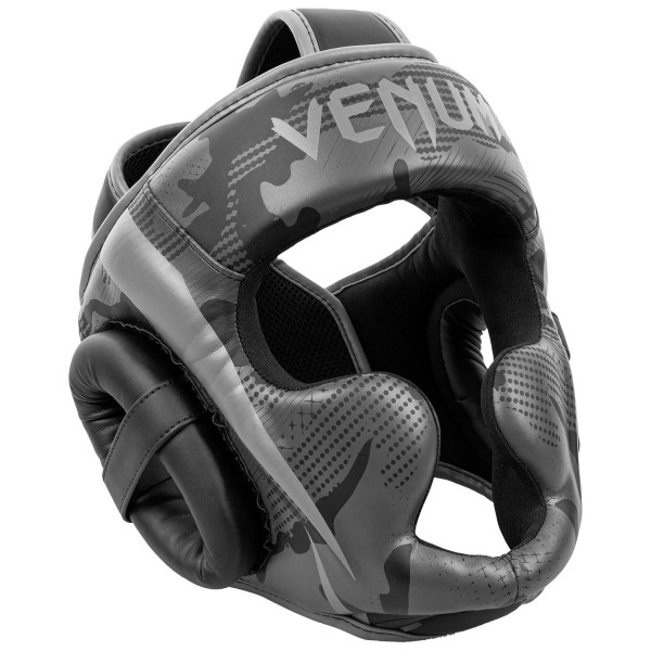 Venum Elite Headgear - Black/ Dark Camo
