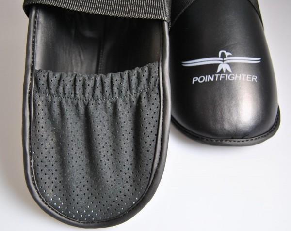 Fußschutz grau-schwarz, Zehentasche