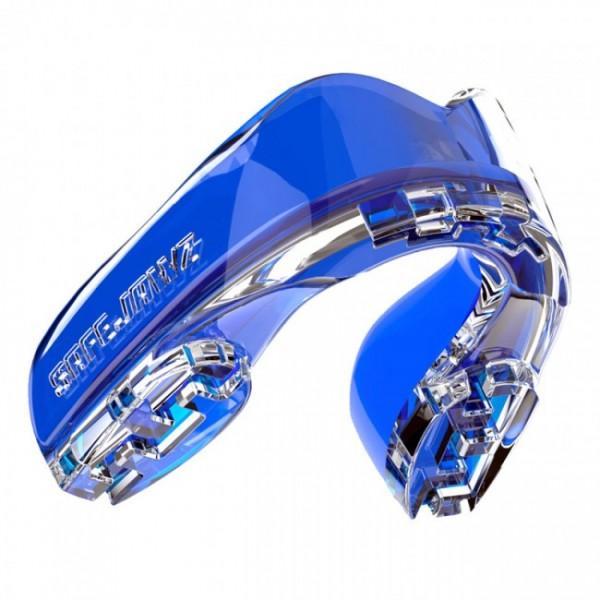 Safejawz Mundschutz Extro-Serie Ice Blue Senior Senior