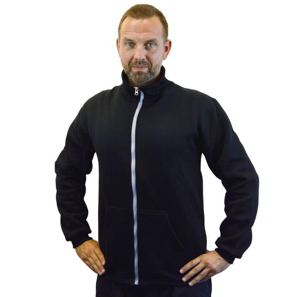 PHOENIX Sweat-Jacke schwarz-grau