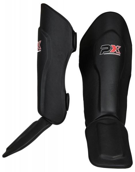 PX Schienbein-Spannschutz FIGHT PRO schwarz XXXS