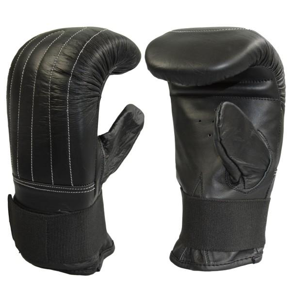 Sandsackhandschuhe Leder schwarz