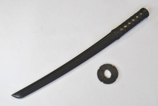 Shoto schwarz aus TPR-Kunststoff 62 cm
