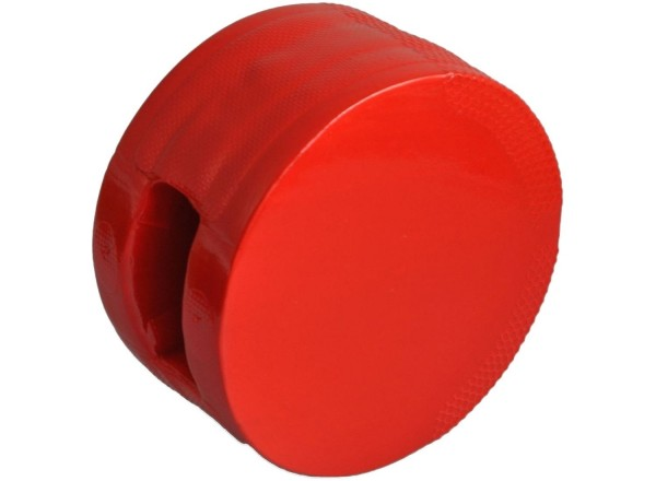 Schaumstoff-Handpratze,weich, beidseitig, rot