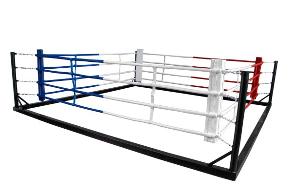 Box-Flachring 6x6 m Seile 4,90 x 4,90 m