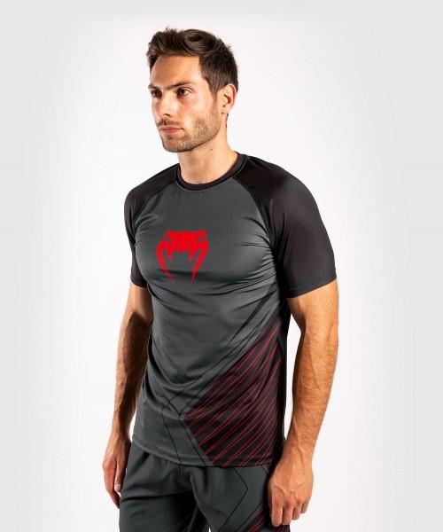 Venum Contender 5.0 Dry Tech Shirt - schwarz/rot S