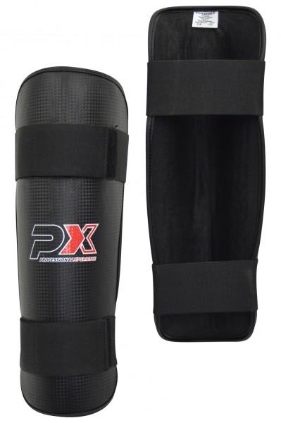 PX Schienbeinschützer Carbon Look schwarz XXS