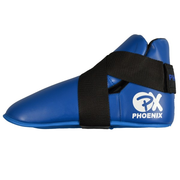 PX Fußschützer Kunstleder blau