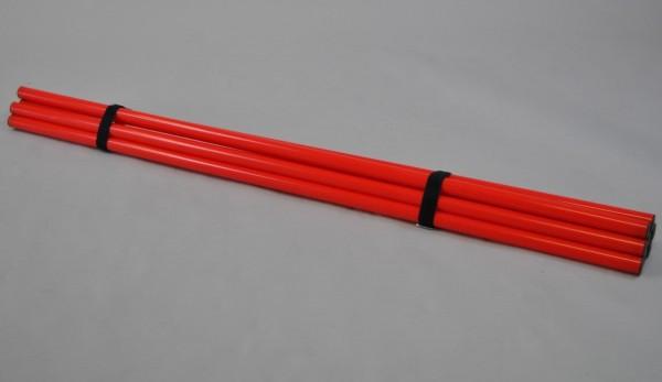 Trainingsstangen-Set, 8 Stück, 120cm